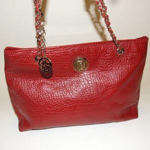 DKNY Pebbled Leather Tote Bag Purse Handbag